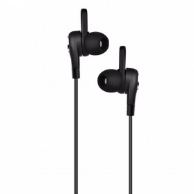 HOCO M21 Earphone with Mic - Black - 1