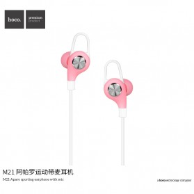 HOCO M21 Earphone with Mic - Black - 2