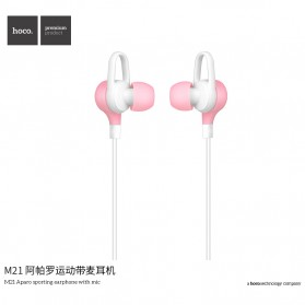 HOCO M21 Earphone with Mic - Black - 3
