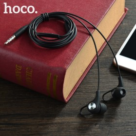 HOCO M21 Earphone with Mic - Black - 6