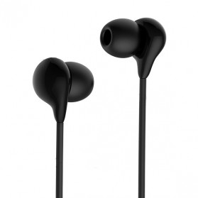 HOCO M13 Earphone with Mic - Black - 1