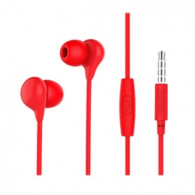 HOCO M13 Earphone with Mic - Black - 7