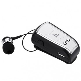 HOCO Clip-on Bluetooth Headset Earphone - E4 - Black - 3