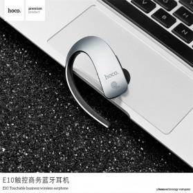 HOCO Touch Wireless Bluetooth Headset - E10 - Gray - 4
