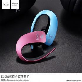 HOCO Touch Wireless Bluetooth Headset - E10 - Gray - 5