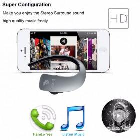 HOCO Touch Wireless Bluetooth Headset - E10 - Gray - 6