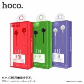 Hoco Leyo Series Earphone dengan Mic - M24 - Black - 6