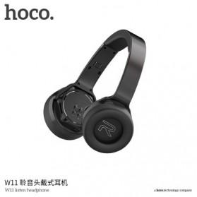 HOCO Wireless Bluetooth Headphone - W11 - Black