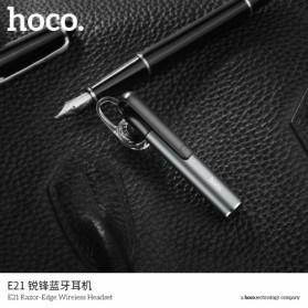 HOCO Razor Edge Bluetooth  Headset - E21 - Gray - 3