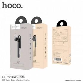 HOCO Razor Edge Bluetooth  Headset - E21 - Gray - 5
