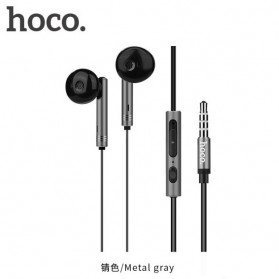 Hoco Zorun Earphone dengan Mic dan Volume Control - M26 - Black