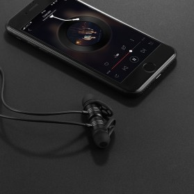 HOCO Wireless Bluetooth Earphone - ES14 - Black - 3