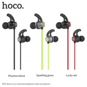 HOCO Joy Earphone dengan Mic - M35 - Black - 2