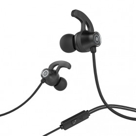 HOCO Joy Earphone dengan Mic - M35 - Black - 3
