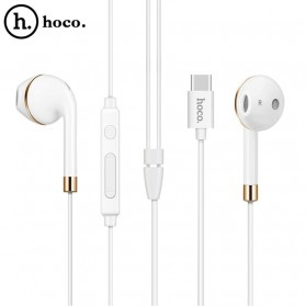 HOCO Bluetooh Earphone with Port USB Type C & Mic - L8 - White - 5