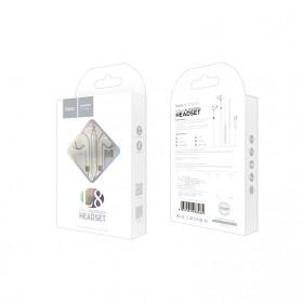 HOCO Bluetooh Earphone with Port USB Type C & Mic - L8 - White - 6
