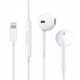HOCO Bluetooh Earphone with Port Lightning & Mic for iPhone X - L7 - White - 4