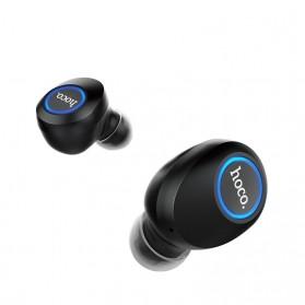 HOCO Joyous TWS Airpods Earphone Bluetooth dengan Charging Case - ES24 - Black - 2