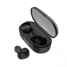 HOCO Joyous TWS Airpods Earphone Bluetooth dengan Charging Case - ES24 - Black - 3