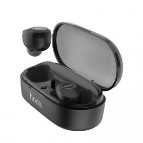 HOCO Joyous TWS Airpods Earphone Bluetooth dengan Charging Case - ES24 - Black - 4