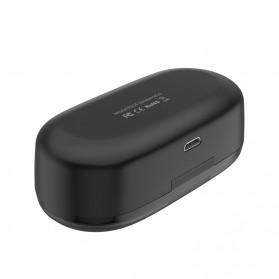HOCO Joyous TWS Airpods Earphone Bluetooth dengan Charging Case - ES24 - Black - 6