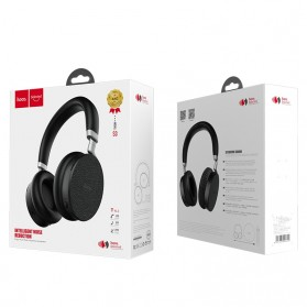 HOCO Nature Sound Wireless Bluetooth Headphones Intelligent Noise Reduction - S3 - Black - 10