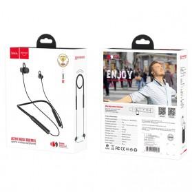 HOCO Joyful Neckband Wireless Bluetooth Earphone Noise Reduction - S2 - Black - 11