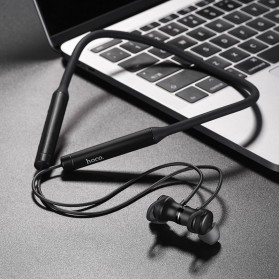 HOCO Joyful Neckband Wireless Bluetooth Earphone Noise Reduction - S2 - Black - 8