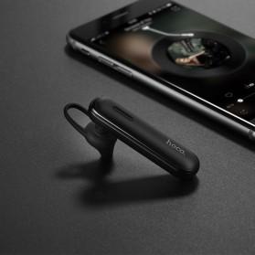 HOCO Free Sound Wireless Bluetooth Headset with Mic - E36 - Black - 4