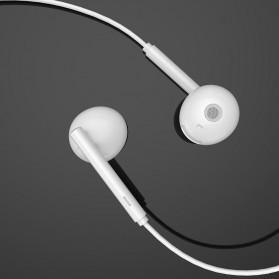 HOCO Acoustic Earphone Earpod USB Type C with Mic - L10 - White - 7