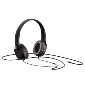 HOCO Enlighten Wired Headphone + Earphones with Mic - W24 - Blue - 3