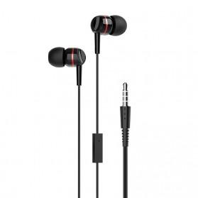 HOCO Enlighten Wired Headphone + Earphones with Mic - W24 - Blue - 4