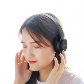 HOCO Enlighten Wired Headphone + Earphones with Mic - W24 - Blue - 8