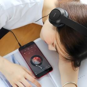 HOCO Enlighten Wired Headphone + Earphones with Mic - W24 - Blue - 9