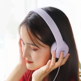 HOCO Graceful Charm Wired Headphone with Mic - W21 - Black - 5