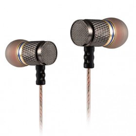 Knowledge Zenith Special Edition 7mm In-Ear Earphones Dual Magnetic Sound Unit  - KZ-EDR1 - Multi-Color