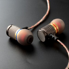 Knowledge Zenith Special Edition 7mm In-Ear Earphones Dual Magnetic Sound Unit  - KZ-EDR1 - Multi-Color - 5
