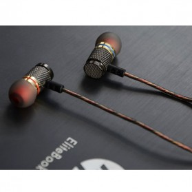 Knowledge Zenith Special Edition 7mm In-Ear Earphones Dual Magnetic Sound Unit  - KZ-EDR1 - Multi-Color - 8