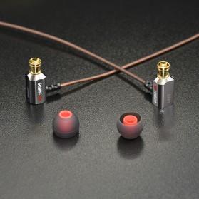 Knowledge Zenith Earphone 3.5mm dengan Mic - KZ-ED9 - Black - 6