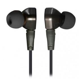 Knowledge Zenith Super Bass HiFi Earphones 3.5mm - KZ-IE80 - Black - 2