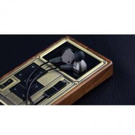 Knowledge Zenith Super Bass HiFi Earphones 3.5mm - KZ-IE80 - Black - 9