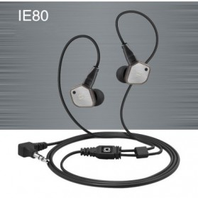 Knowledge Zenith Super Bass HiFi Earphones 3.5mm - KZ-IE80 - Black - 11