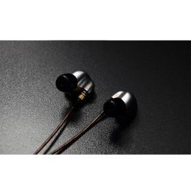 Knowledge Zenith Copper Driver In-Ear Sports Earphones 3.5mm with Mic - KZ-ATE - Silver Black - 4