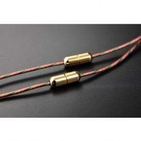 Knowledge Zenith Copper Driver In-Ear Sports Earphones 3.5mm with Mic - KZ-ATE - Silver Black - 5