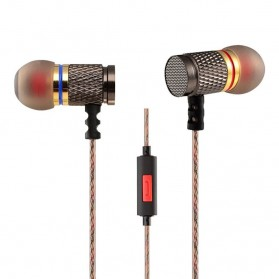 Knowledge Zenith Special Edition 7mm In-Ear Earphones Dual Magnetic Sound Unit  with Microphone - KZ-EDR1 - Multi-Color - 1