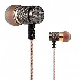 Knowledge Zenith Special Edition 7mm In-Ear Earphones Dual Magnetic Sound Unit  with Microphone - KZ-EDR1 - Multi-Color - 2