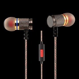 Knowledge Zenith Special Edition 7mm In-Ear Earphones Dual Magnetic Sound Unit  with Microphone - KZ-EDR1 - Multi-Color - 3