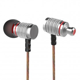 Knowledge Zenith HiFi Enthusiast In-Ear Earphones Pure Sound with Microphone - KZ-EDR2 - Silver - 2