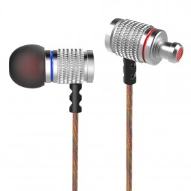 Knowledge Zenith HiFi Enthusiast In-Ear Earphones Pure Sound with Microphone - KZ-EDR2 - Silver - 4