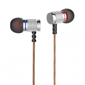 Knowledge Zenith HiFi Enthusiast In-Ear Earphones Pure Sound with Microphone - KZ-EDR2 - Silver - 5